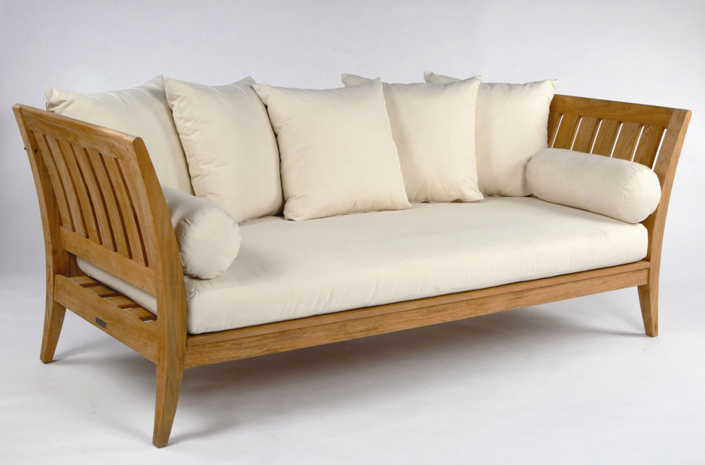 Boston Sofa Santai Kayu Jati Minimalis