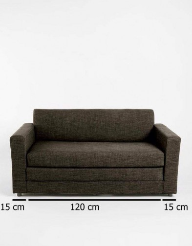 Sofa Bed Minimalis Hitam Kombinasi